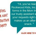 The Rockwood Files: How did I become my kids' secretary?