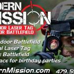 Modern Mission Laser Tag adds HUGE indoor battlefield!