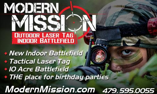 Modern Mission Laser Tag