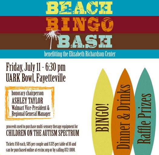 beach bingo bash flyer