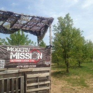 modern mission outside