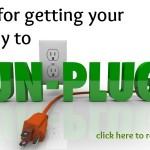 Tips for getting kids to unplug