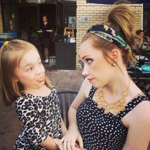 Rachel & Maycey 1