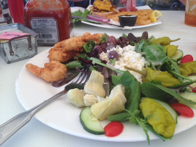 Great Southern Cafe salad