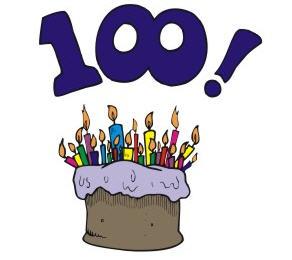 100 celebrate