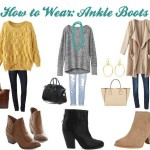 Fashion Fairy Godmother: How to wear ankle, riding boots