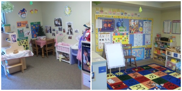 first school classroom collage