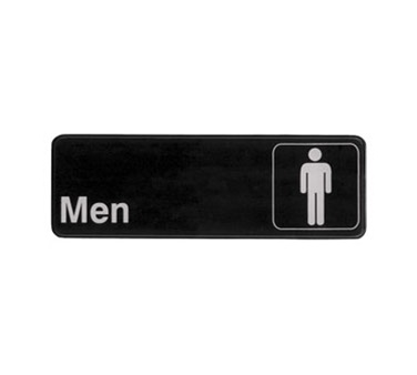 men restroom sign