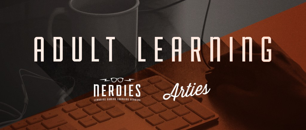 Nerdies_learning banner