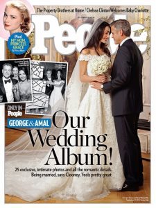 george clooney wedding people