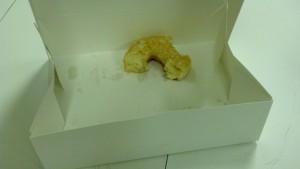 stale donut