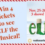 Giveaway: Tickets to see Elf the Musical at Walton Arts Center
