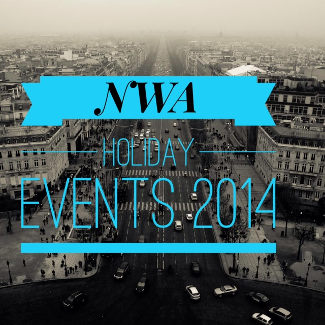 nwa holiday events art