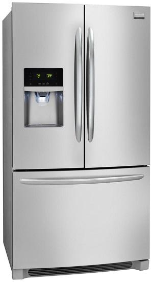 refrigerator glamour shot