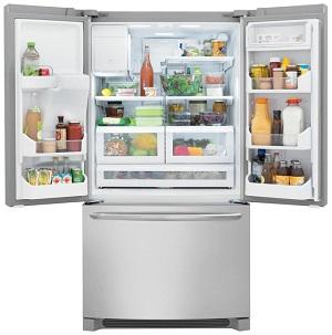 refrigerator open
