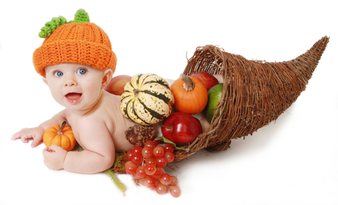 http://www.dreamstime.com/stock-photography-fall-thanksgiving-baby-cornucopia-image27771952