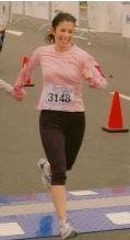 Beth Gallini running
