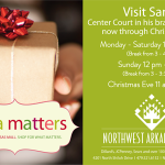 Visit Santa at his new house in the NWA Mall + some insider scoop!
