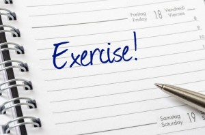 exercise on calendar