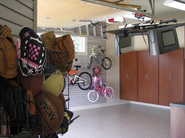 my arkansas garage, organized garage