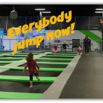 Mom review of the new trampoline park, High Rise