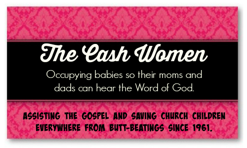 cash women biz card