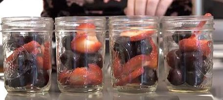 fruit in jars