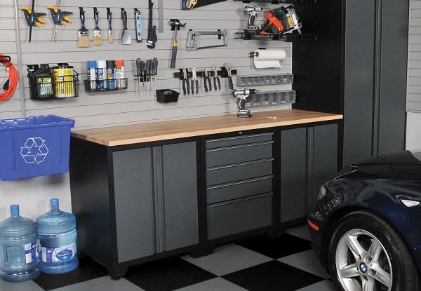 my arkansas garage organized