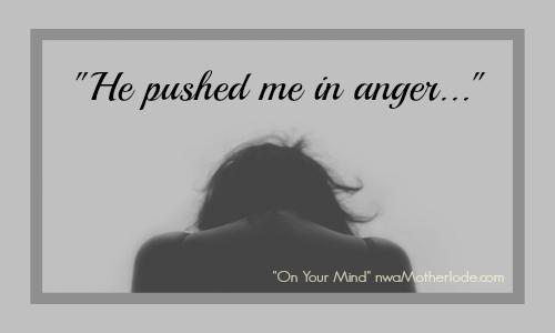 pushed in anger slider