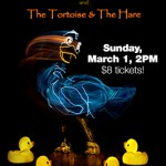 Giveaway: Ugly Duckling & The Tortoise and the Hare on stage + U.S. Pizza!
