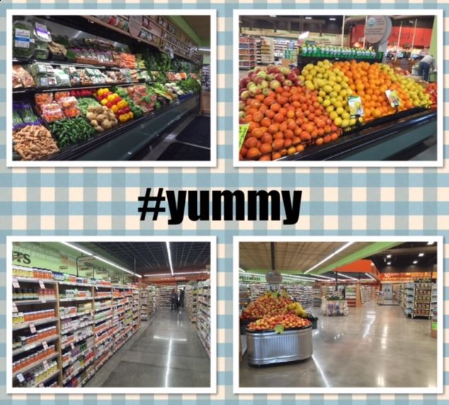 natural collage yummy