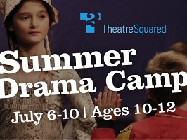 Theatre Squared, summer camp, cropped