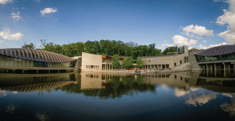 crystal bridges view