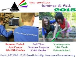 prism summer camp