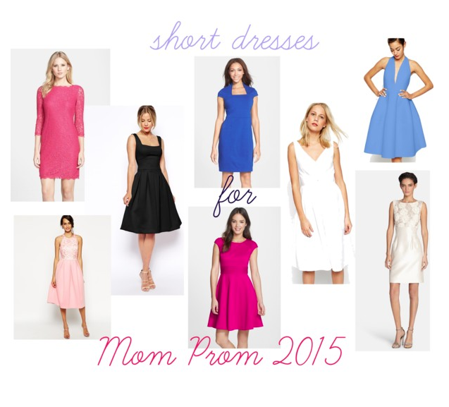 mom prom short dresses
