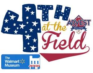 4th at the Field w Walmart Museum Logo