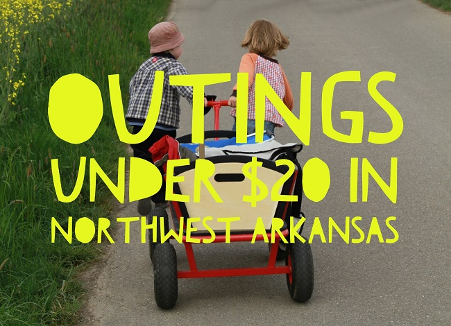Outings under $20 in NWA, 650