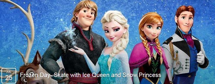 frozen at the jones center