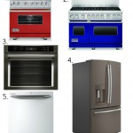 New appliance colors for our kitchens? Yes, please!