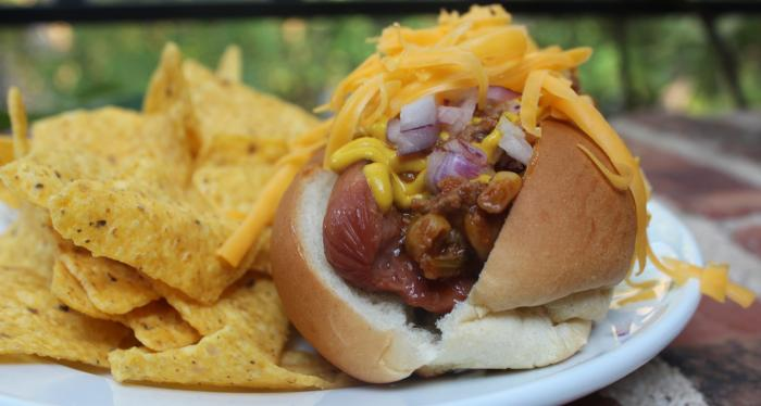 Mealtime Mama: The Ultimate Chili Cheese Dog from My Brother's Salsa ...