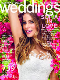 sofia vergara wedding cover