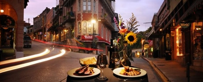 food and wine event, eureka springs