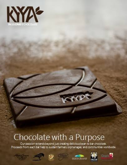 kyya chocolate with purpose