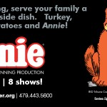 Giveaway: Tickets to see Annie on stage at Walton Arts Center!