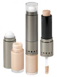 lorac double feature concealer and highlighter