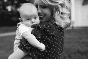 paige ray and baby