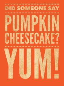 pumpkin cheesecake350