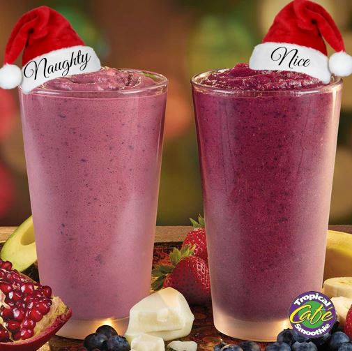 blueberry pom truffle and blueberry bliss naughty nice