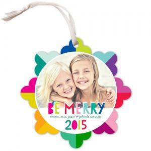 card ornament color design