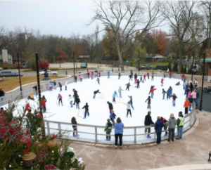 ice skating rink bentonville